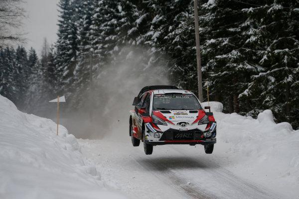 2018 FIA World Rally Championship, Round 02, Rally Sweden 2018, February 15-18, 2018. Jari-Matti Latvala, Toyota, Action Worldwide Copyright: McKlein/LAT