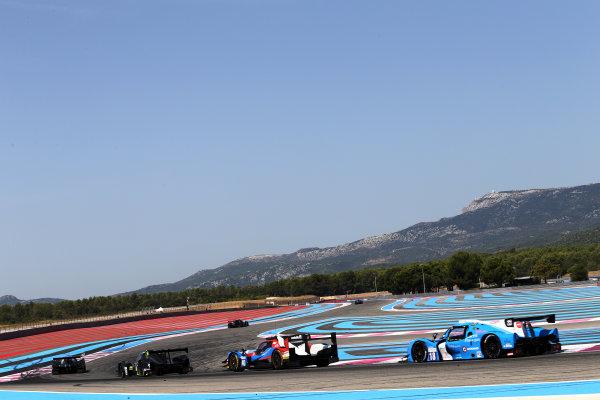2017 European Le Mans Series, Le Castellet, France. 25th - 27th August 2017. #18 Alexandre Cougnaud (FRA) / Antoine Jung (FRA) / Romano Ricci (FRA) - M.RACING YMR - Ligier JS P3 ? Nissan World Copyright: JEP/LAT Images