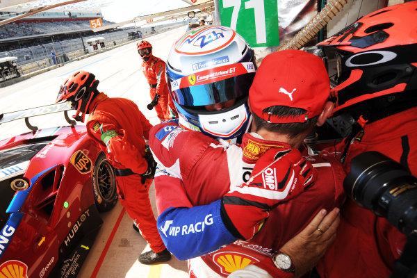 2017 FIA World Endurance Championship, COTA, Austin, Texas, USA. 14th-16th September 2017, #71 AF Corse Ferrari 488 GTE: Davide Rigon, Sam Bird  World Copyright. May/JEP/LAT Images