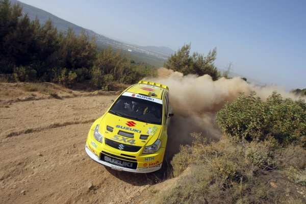 2008 FIA World Rally ChampionshipRound 07Acropolis Rally  200829/5-1/6  2008PG Andersson, Suzuki WRC, Action