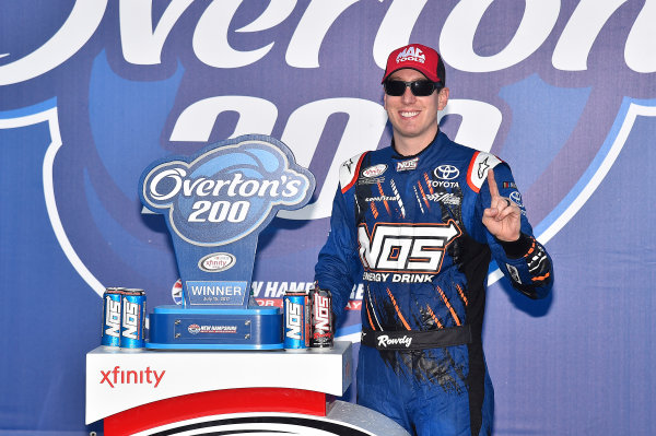 NASCAR XFINITY Series Overton's 200 New Hampshire Motor Speedway, Loudon, NH USA Saturday 15 July 2017 Kyle Busch, NOS Energy Drink Toyota Camry wins. World Copyright: Rusty Jarrett LAT Images