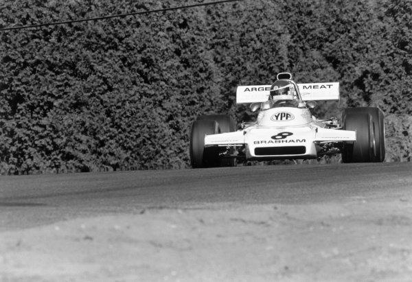 1972 Canadian Grand Prix.Mosport Park, Ontario, Canada. 22-24 September 1972.Carlos Reutemann (Brabham-Ford Cosworth). Ref-4831 #18A.World Copyright: LAT Photographic