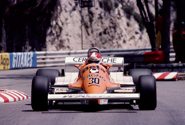 1981 Monaco Grand Prix. Monte Carlo, Monaco. 28-31 May 1981. Siegfried Stohr (Arrows A3 Ford). Ref-81MON74. World Copyright - LAT Photographic