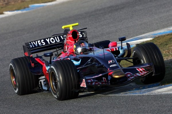 Sebastian Vettel (GER) Scuderia Toro Rosso STR02. Formula One Testing, Day One, Jerez, Spain, Tuesday, 4 December 2007.