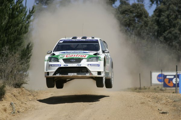 2005 FIA World Rally Champs. Round Sixteen, Rally Australia.10th - 13th November 2004.Toni Gardemeister, Ford, action.World Copyright: McKlein/LAT