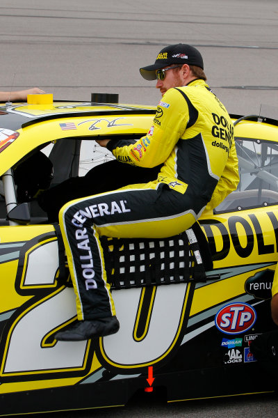 7-8 June, 2013, Newton, Iowa USA Brian Vickers, Dollar General Toyota Camry © 2013, Russell LaBounty LAT Photo USA .