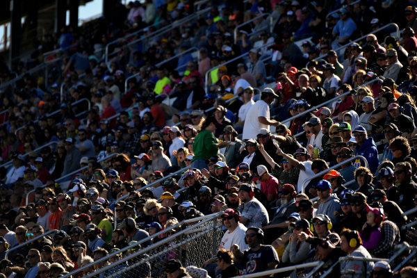 NASCAR Camping World Truck Series Alpha Energy Solutions 250 Martinsville Speedway, Martinsville, VA USA Saturday 1 April 2017 Fans, atmosphere World Copyright: Scott R LePage/LAT Images ref: Digital Image lepage-170401-mv-2845