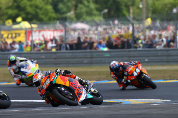 2017 Moto2 Championship - Round 5 Le Mans, France Sunday 21 May 2017 Ricard Cardus, Red Bull KTM Ajo World Copyright: Gold & Goose Photography/LAT Images ref: Digital Image 671779