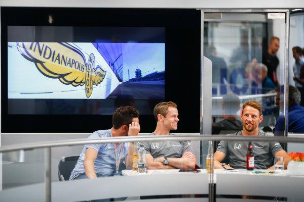 Monte Carlo, Monaco. Sunday 28 May 2017. Jenson Button, McLaren. World Copyright: Andy Hone/LAT Images ref: Digital Image _ONY2021