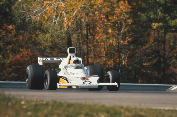 1973 United States Grand Prix.  Watkins Glen, New York, USA. 5-7th October 1973.  Jody Scheckter, McLaren M23 Ford.  Ref: 73USA17. World copyright: LAT Photographic