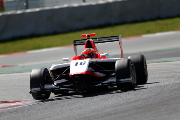 2014 GP3 Series. Test 3 - Barcelona, Spain. Thursday 17 April 2014. Dean Stoneman (GBR, Marussia Manor Racing)  Photo: Sam Bloxham/GP3 Series Media Service. ref: Digital Image _SBL5510