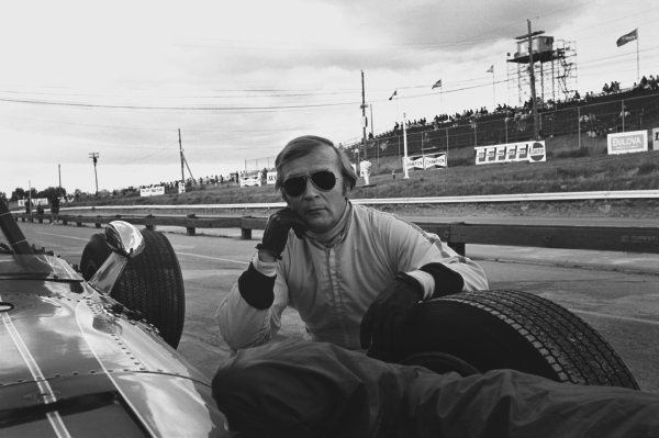 1969 Canadian Grand Prix. Mosport Park, Ontario, Canada. 18th - 20th September 1969. Al Pease (John Maryon/Eagle TG101 Climax), DSQ for being too slow on track, portrait. World Copyright: LAT Photographic. Ref: 2701 - 19A.