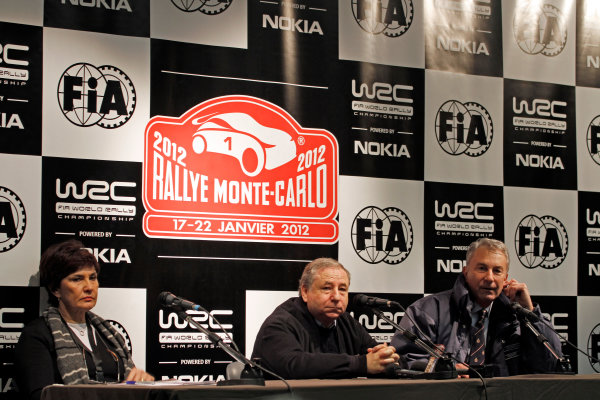 Round 01-Rally Monte Carlo 17-22 January 2012. Jean Todt, portraitWorldwide Copyright: McKlein/LAT