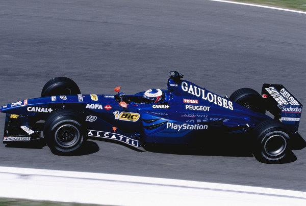 1999 San Marino Grand Prix.Imola, Italy. 30/4-2/5 1999.Jarno Trulli (Prost AP02 Peugeot).Ref-99 SM 99.World Copyright - Charles Coates/LAT Photographic