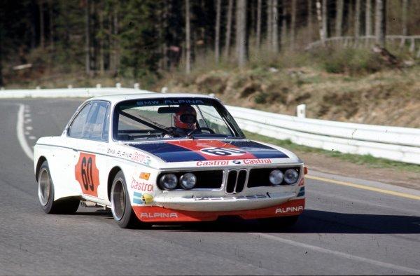 1973 Spa-Francorchamps 1000kms.Spa-Francorchamps, Belgium.Niki Lauda (BMW 3 0 CSL).World - LAT Photographic