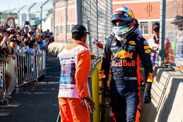 Race retiree Daniel Ricciardo (AUS) Red Bull Racing at Formula One World Championship, Rd1, Australian Grand Prix, Race, Albert Park, Melbourne, Australia, Sunday 26 March 2017.
