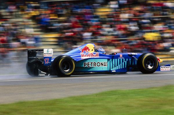 Norberto Fontana, Sauber C16 Petronas.