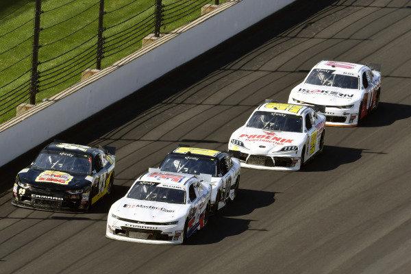 #93: Josh Bilicki, RSS Racing, Chevrolet Camaro RSS Racing Sci Aps and #36: Josh Williams, DGM Racing, Chevrolet Camaro Harkin Construction