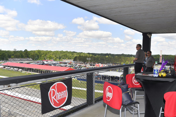 #20: Christopher Bell makes a suite apperance for the Rheem guests on behalf of Joe Gibbs Racing representing the Toyota Supra sponsored by Rheem