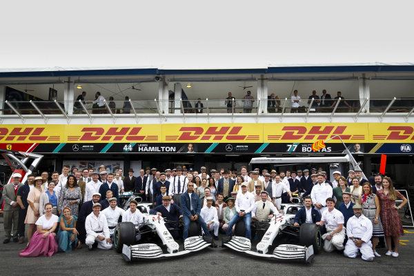 Mercedes AMG F1 team photographer to celebrate 125th year in motorsport, Lewis Hamilton, Mercedes AMG F1, Valtteri Bottas, Mercedes AMG F1, Toto Wolff, Executive Director (Business), Mercedes AMG, Esteban Ocon, Mercedes AMG F1 and Esteban Gutierrez, Mercedes AMG F1