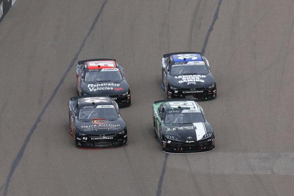 #19: Brandon Jones, Joe Gibbs Racing, Toyota Supra Juniper and #93: Josh Bilicki, RSS Racing, Chevrolet Camaro RSS Racing