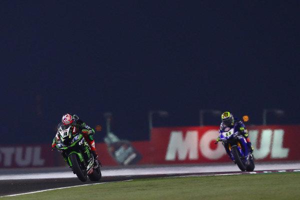 Leon Haslam, Kawasaki Racing Team, Sandro Cortese, GRT Yamaha WorldSBK.