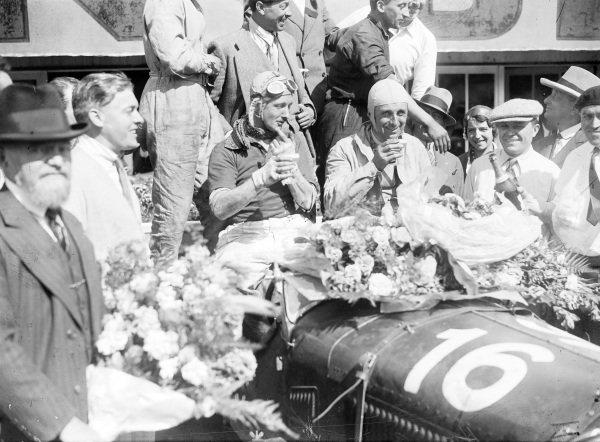 Earl Howe / Henry Birkin, Lord E. Howe, Alfa Romeo 8C 2300 LM.