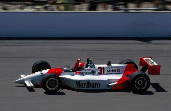 Al Unser Jr (USA) Penske PC23 Mercedes won the race.