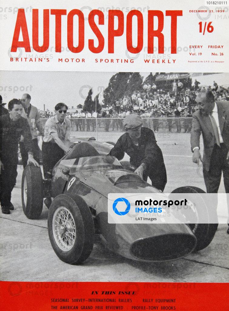 Autosport Covers 1959