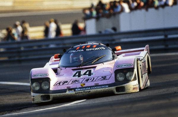 John Watson / Bruno Giacomelli / Allen Berg, Richard Lloyd Racing, Porsche 962 C.
