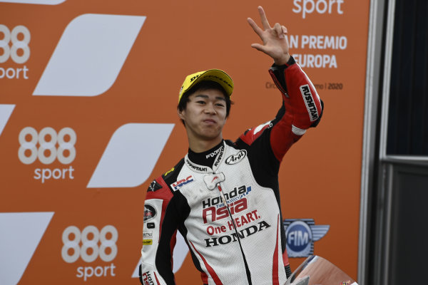 Third place Ai Ogura, Honda Team Asia.