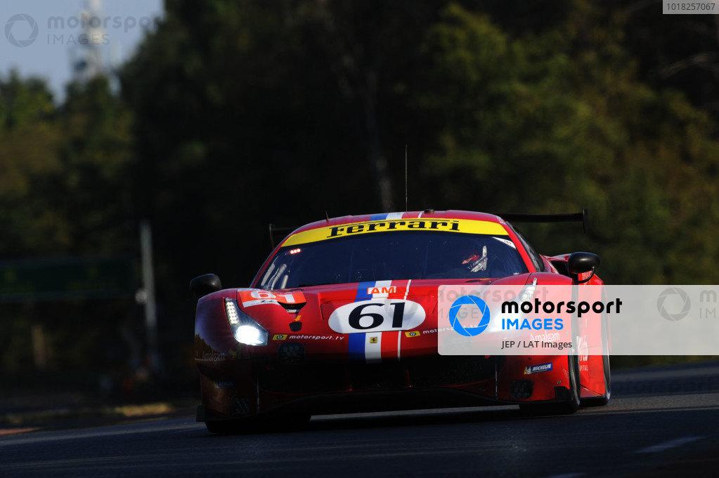 #61 Luzich Racing Ferrari 488 GTE EVO: Francesco Piovanetti / Oswaldo Negri / Come Ledogar