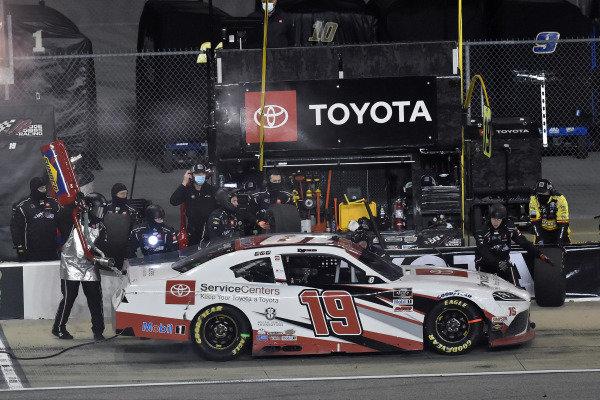 #19: Brandon Jones, Joe Gibbs Racing, Toyota Supra Toyota Service Centers