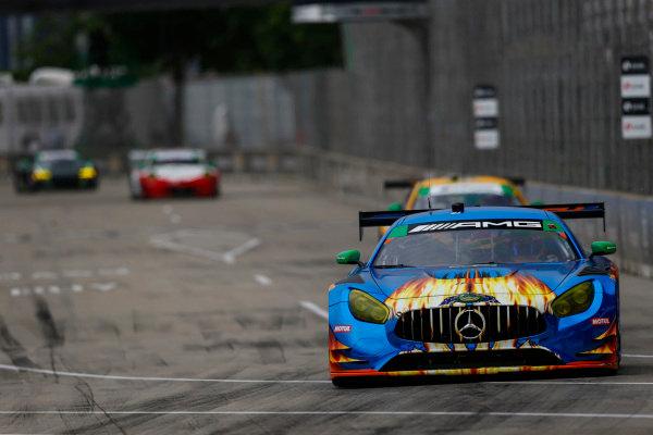 #75 SunEnergy1 Racing Mercedes AMG GT3, GTD: Kenny Habul, Bernd Schneider