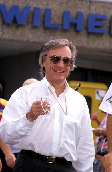 Bernie Ecclestone (GBR), FOM President. German Grand Prix, Rd9, Hockenheim, Germany. 29 July 1990.