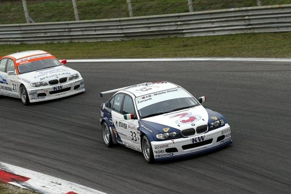 Alex Zanardi (ITA) BMW 320i finished 7th in race 2. The Italian returned to racing for the first time after losing both legs in a horrific accident at the Lausitzring.
