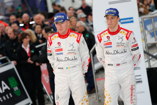 2015 World Rally Championship, Round 13, Rally of Wales GB, 12th - 15th November, 2015 Paul Nagle, Kris Meeke, DS, 2nd place  Worldwide Copyright: McKlein/LAT