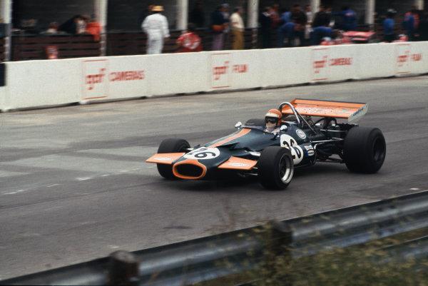 1971 Canadian Grand Prix.  Mosport, Canada. 17-19th September 1971.  Chris Craft, Brabham BT33 Ford.  Ref: 71CAN19. World Copyright: LAT Photographic