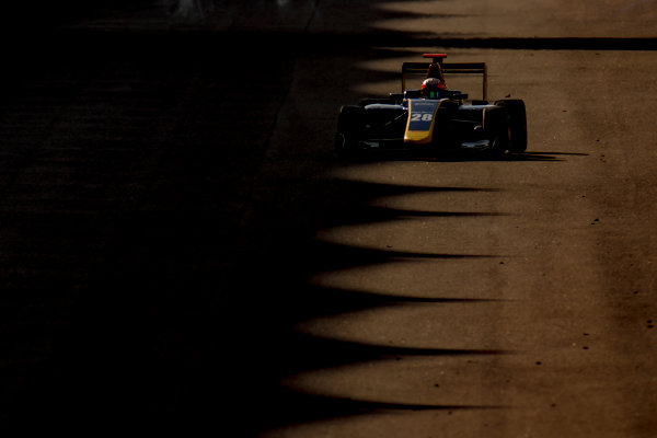 2016 GP3 Series Test 5. Yas Marina Circuit, Abu Dhabi, United Arab Emirates. Thursday 1 December 2016. Tarun Reddy (IND, DAMS)  Photo: Zak Mauger/GP3 Series Media Service. ref: Digital Image _L0U3809