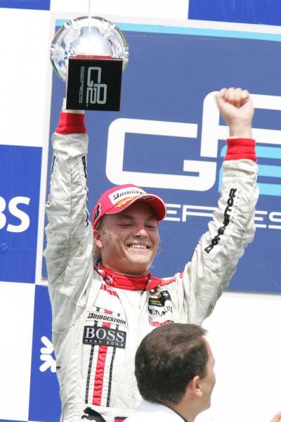 Istanbul Park, IstanbulSunday Race 23rd Nico Rosberg (D, ART Grand Prix). Podium Copyright: GP2 Series Media Service ref: Digital Image Only