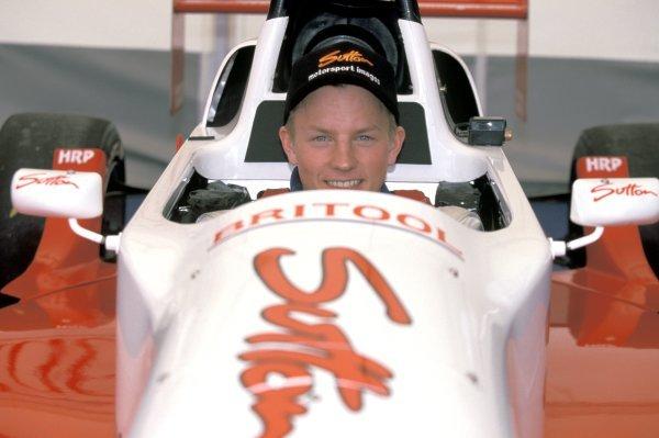 Kimi Raikkonen (FIN) Haywood Racing. Formula Renault Sport Championship, Donington Park, England, 5 April 1999.