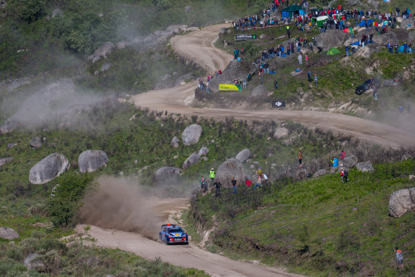 2017 FIA World Rally Championship, Round 06, Rally Portugal, May 18 - 21 2017, Thierry Neuville, Hyundai, action, Worldwide Copyright: McKlein/LAT
