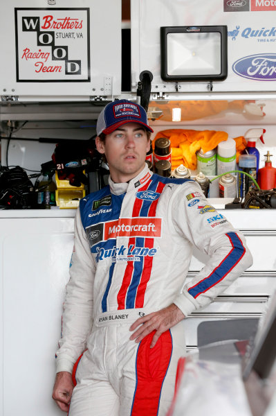 Monster Energy NASCAR Cup Series Toyota Owners 400 Richmond International Raceway, Richmond, VA USA Saturday 29 April 2017 Ryan Blaney, Wood Brothers Racing, Motorcraft/Quick Lane Tire & Auto Center Ford Fusion World Copyright: Matthew T. Thacker LAT Images ref: Digital Image 17RIC1mt1293