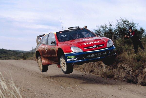 2003 World Rally ChampionshipRally Argentina, Cordoba, Argentina, 7th - 11th May 2003.Colin McRae/Derek Ringer (Citroen Xsara), action.World Copyright: LAT Photographicref: 03WRCArg20