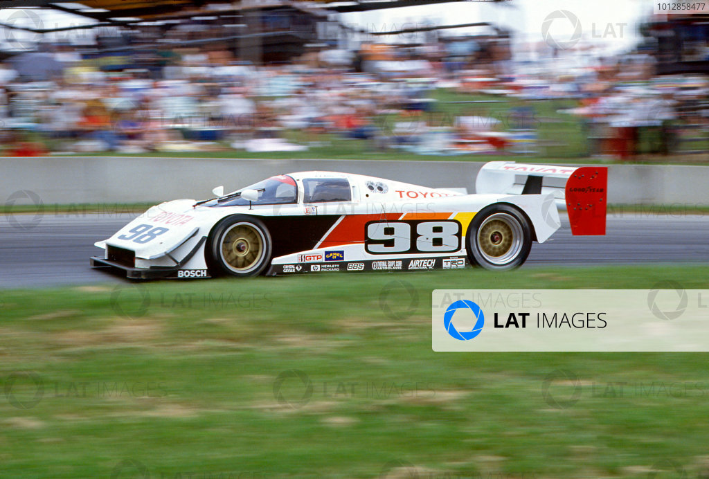 P. J. Jones (Eagle Mk III Toyota), action.  World copyright: LAT Photographic.  Ref: