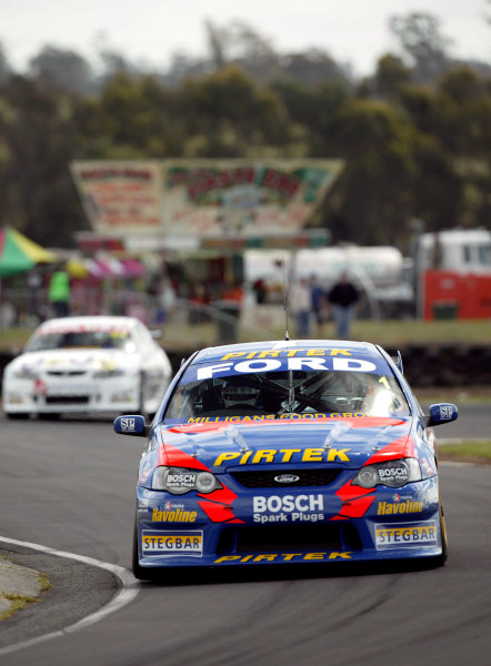 2004 Australian V8 SupercarsSymmons Plain Raceway, Tasmania. November 14th.V8 Supercar driver Marcos Ambrose set the fastest time during the first practice session.World Copyright: Mark Horsburgh/LAT Photographicref: Digital Image Only
