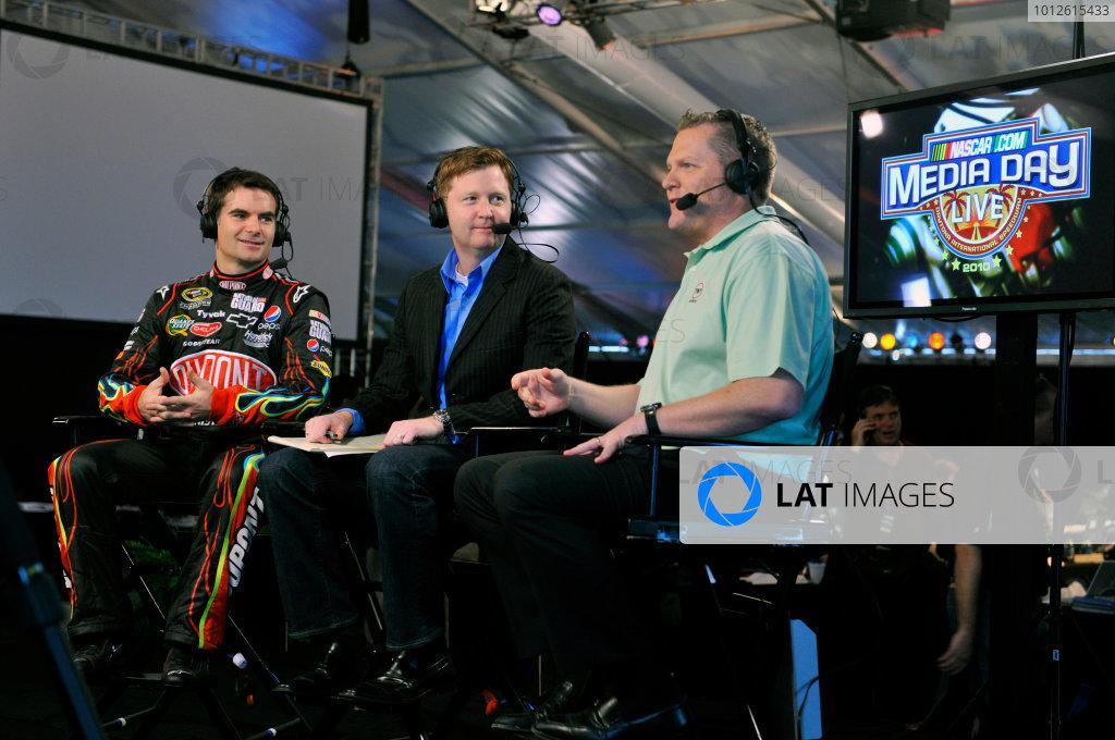 2010 NASCAR Daytona Media Day