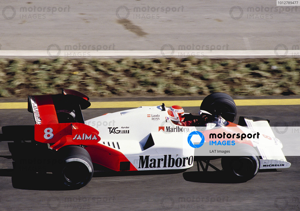 1984 Formula One Testing.