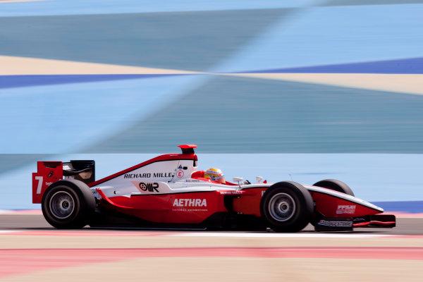 Bahrain International Circuit. Sakhir, Bahrain.Thursday Practice. 25th February.Jules Bianchi (FRA, ART Grand Prix). Action. World Copyright: Alastair Staley/GP2 Media Service.Ref: _O9T2640 jpg