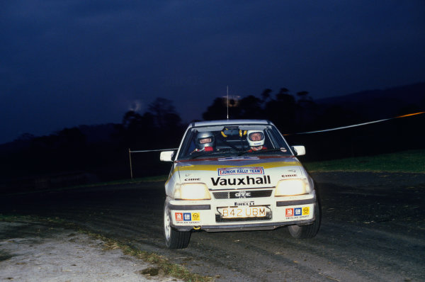 England.Andrew Wood, Vauxhall Astra GTE, action.World Copyright: LAT Photographic.